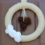 Wrapped Burlap Fall Wreath