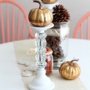Romantic Fall Centerpiece MHB