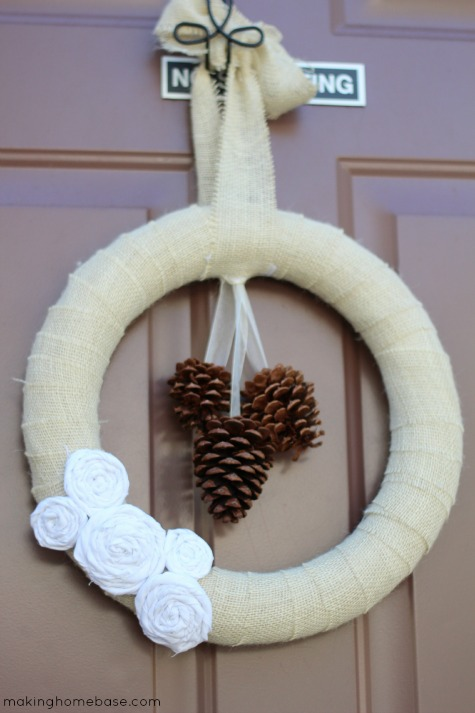 makinghomebase fall wreath