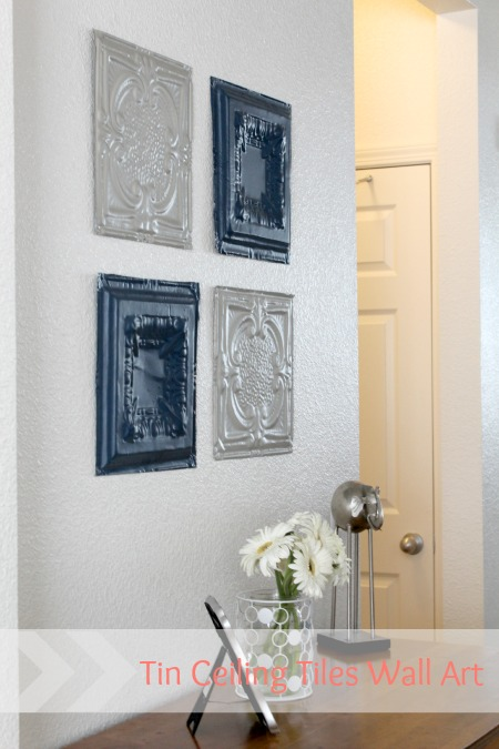 Ceiling tile wall art - MHB