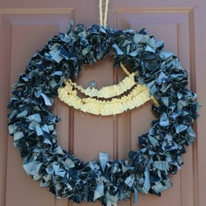 Uniform Rag Wreath