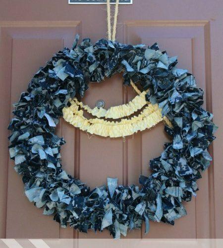Uniform Rag Wreath