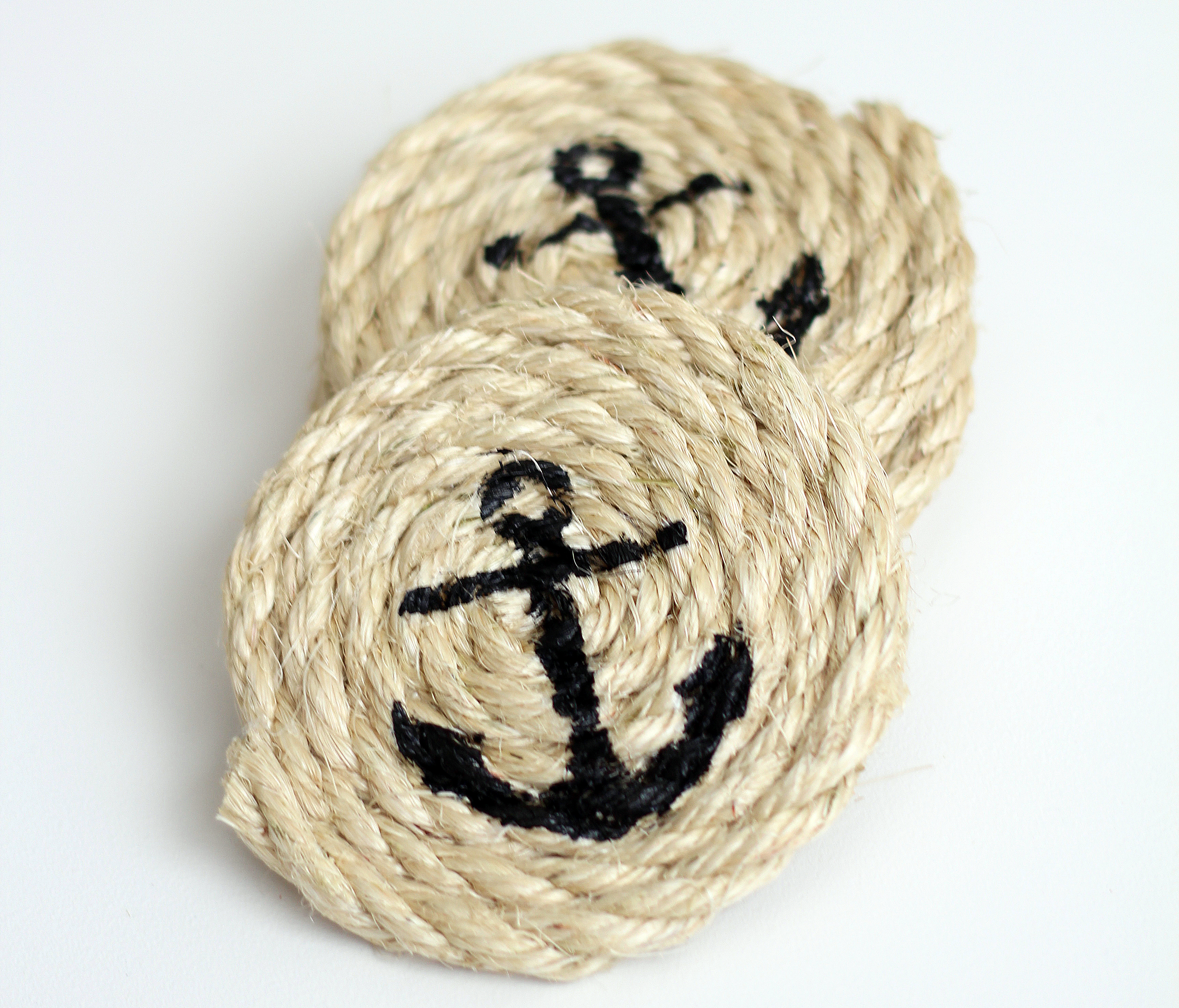 Nautical Sisal Rope Coasters