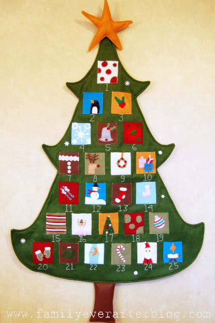 homemade christmas countdowns and advent calendars   making home base