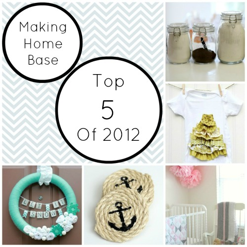 Making Home Base Top 5 Posts of 2012