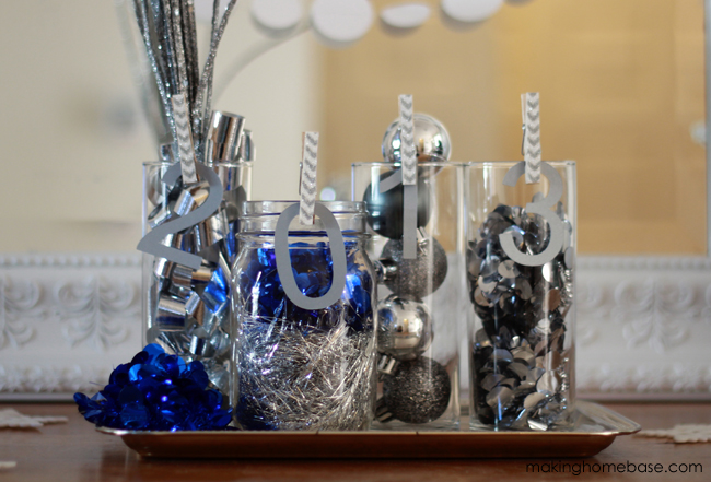 new years home decor vignette making home base