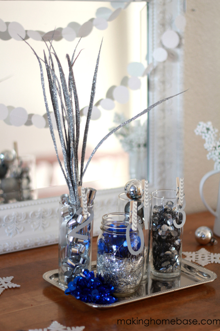 new years vignette making home base