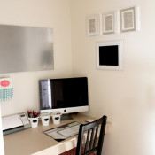 Making Home Base Office Nook After