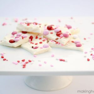 Valentine's Day Candy Bark