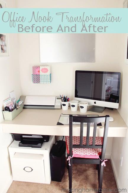 office nook makeover