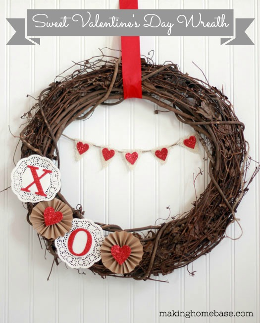 Valentine's Day Decor Valentine's Day Wreath