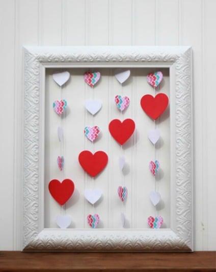 heart frame vday