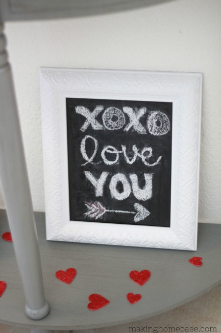 Making Home Base: Vintage Valentine's Vignette #ValentinesDay
