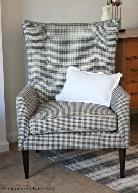 Painted Chair Legs via Making Home Base