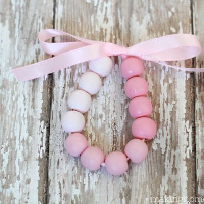 DIY Pretty Ribbon Ombre Bracelet