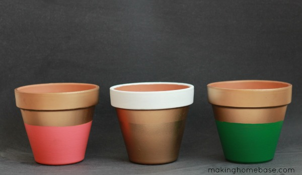Color Block planters