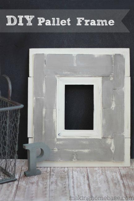 DIY Pallet Frame Making Home Base