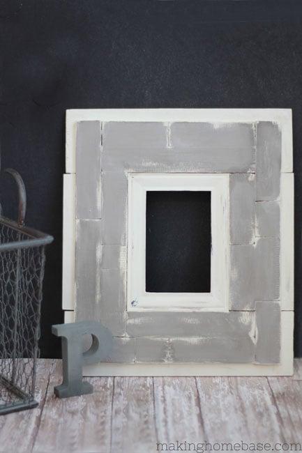 DIY Pallet Frame