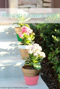 Paint Terra Cotta Flower pots copy