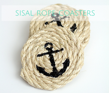 nautical sisal rope coasters copy