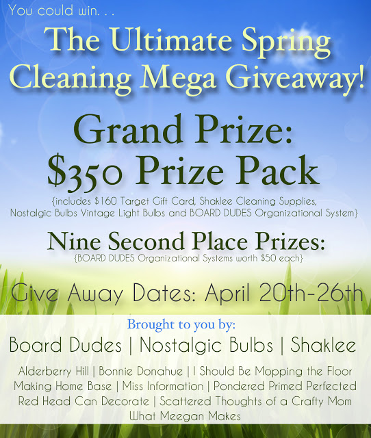 Spring Cleaning Mega Giveaway