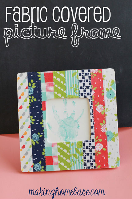 Picture Frame | Clever Sewing Projects To Upcycle Fabric Scraps