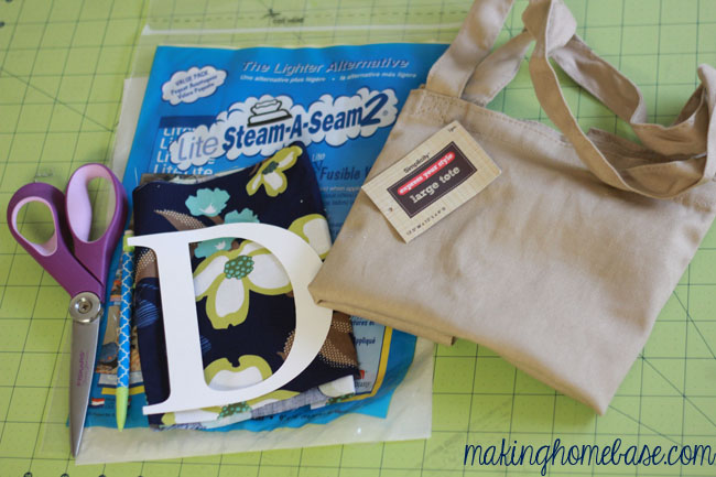 Monogram Tote Tutorial
