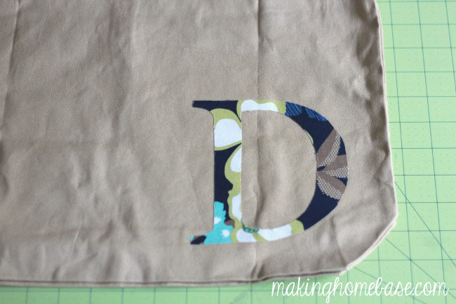 Mothers Day Monogram Tote