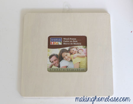 fabric cover picture frame