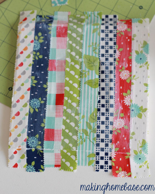 fabric covered picture frame making home base