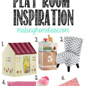 Girl's Playroom Inspiration