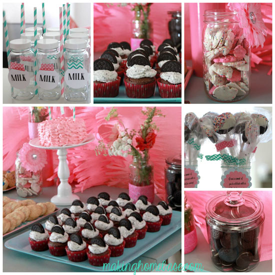 Milk And Cookies Birthday Party Ideas