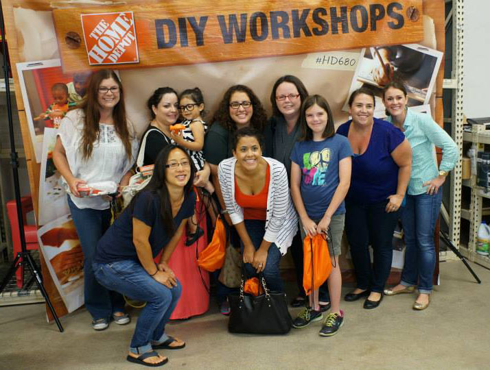 Home Depot grand re-opening DIH