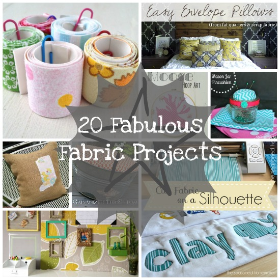 20 Fabulous Fabric Projects