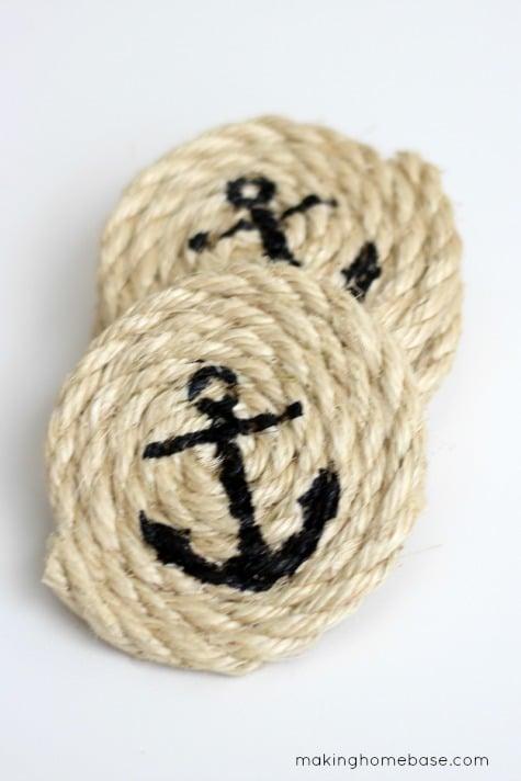 Nautical Inspired Sisal Rope Home Decor