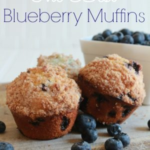 The Best Blueberry Muffins I've Ever Made