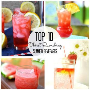10 Pin Worthy Summer Beverages [Creative Connection Features]