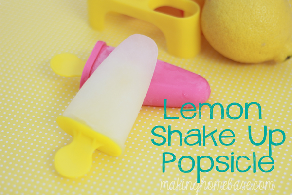 Lemon Shake Up Popsicle
