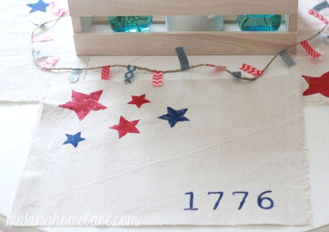 patriotic placemats 20 min
