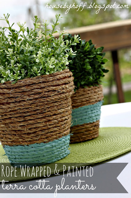 Nautical Inspired Sisal Rope Home Decor