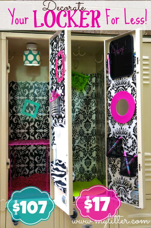 Decorating-a-school-locker-