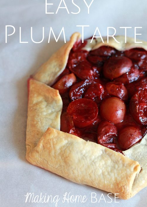 Easy Plum Tarte