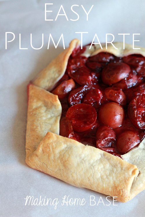 Easy Plum Tarte Recipe
