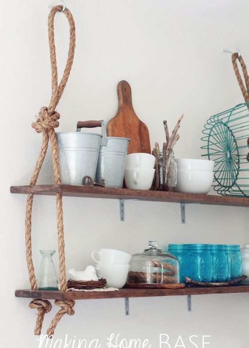 DIY Wall Shelving