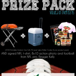 Tailgating Prize Pack Giveaway with Kyvan