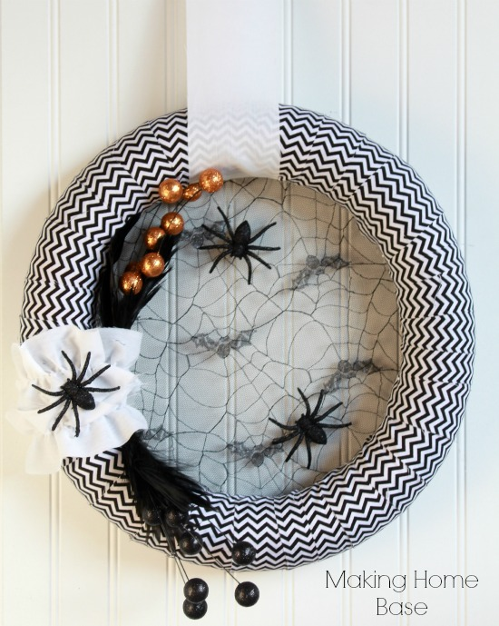 Homemade halloween decorations door decor - Interesting diy halloween wreaths home ...