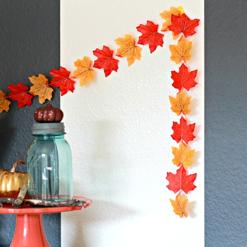 Fall Garland in 5 minutes