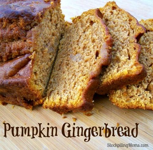 Pumpkin-Gingerbread