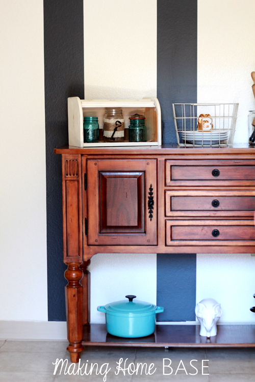 How To Make A Striped Accent Wall Without Paint