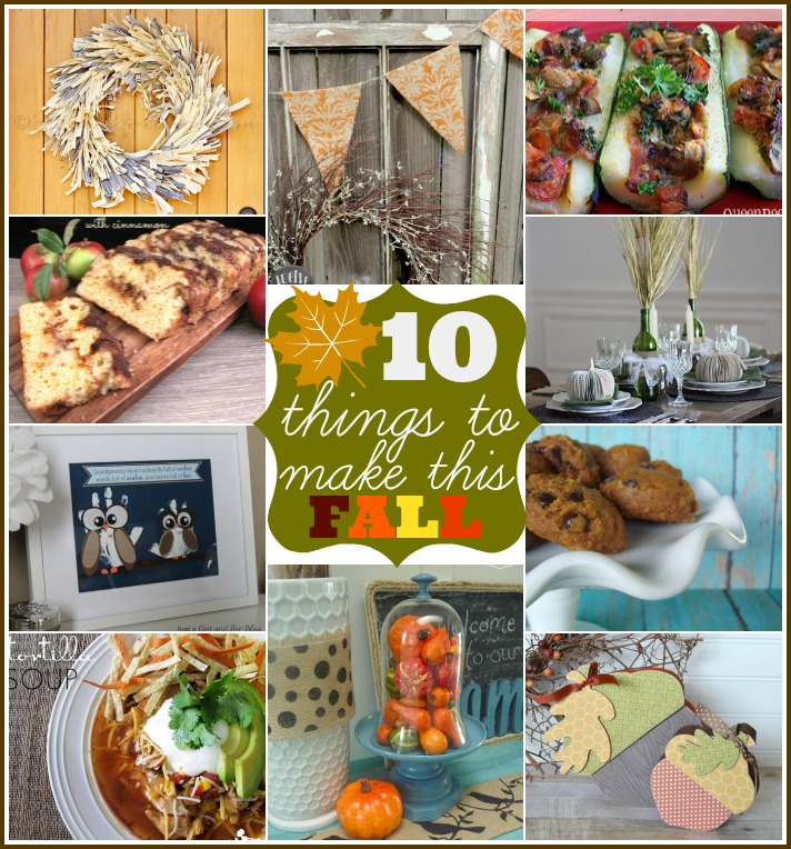 10 Things to Make for Fall